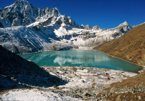 GOKYO RI AND CHO LA PASS WITH EVEREST BASE CAMP
